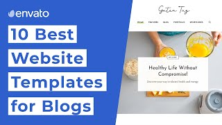10 Best Website Templates for Blogs [2020]