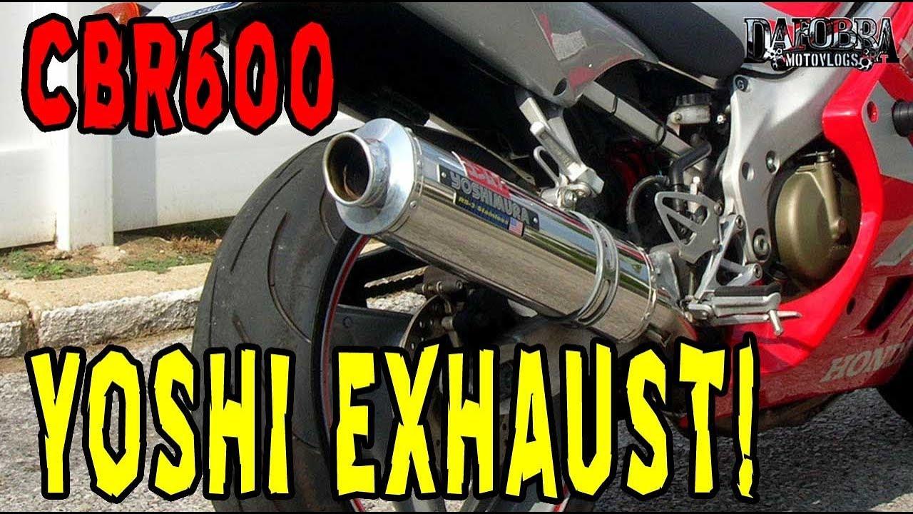 Honda CBR600F4 Yoshimura RS-3 Exhaust Sound