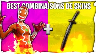 10 BEST COMBOS DE SKINS V5 !!! SUR FORTNITE Battle Royale