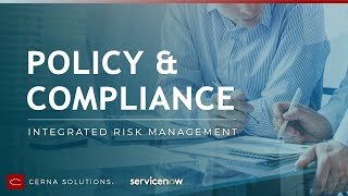 ServiceNow Policy & Compliance Demo
