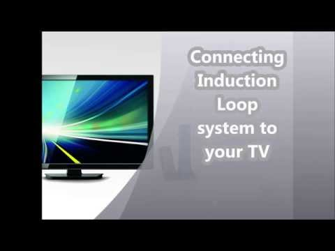 Connecting TV to a Induction Loop system.