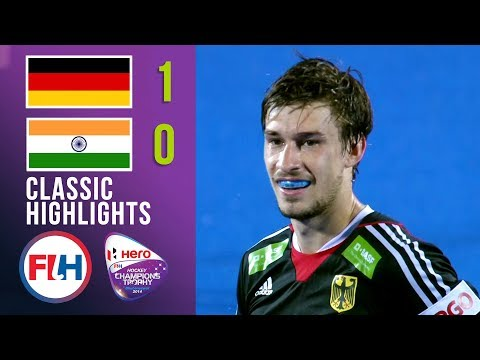 Germany vs India | Men's Hockey Champions Trophy 2014 | Classic Highlights