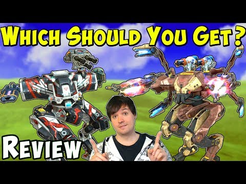 ARES HADES or NEMESIS - Which Should You Get? War Robots Gameplay WR Review