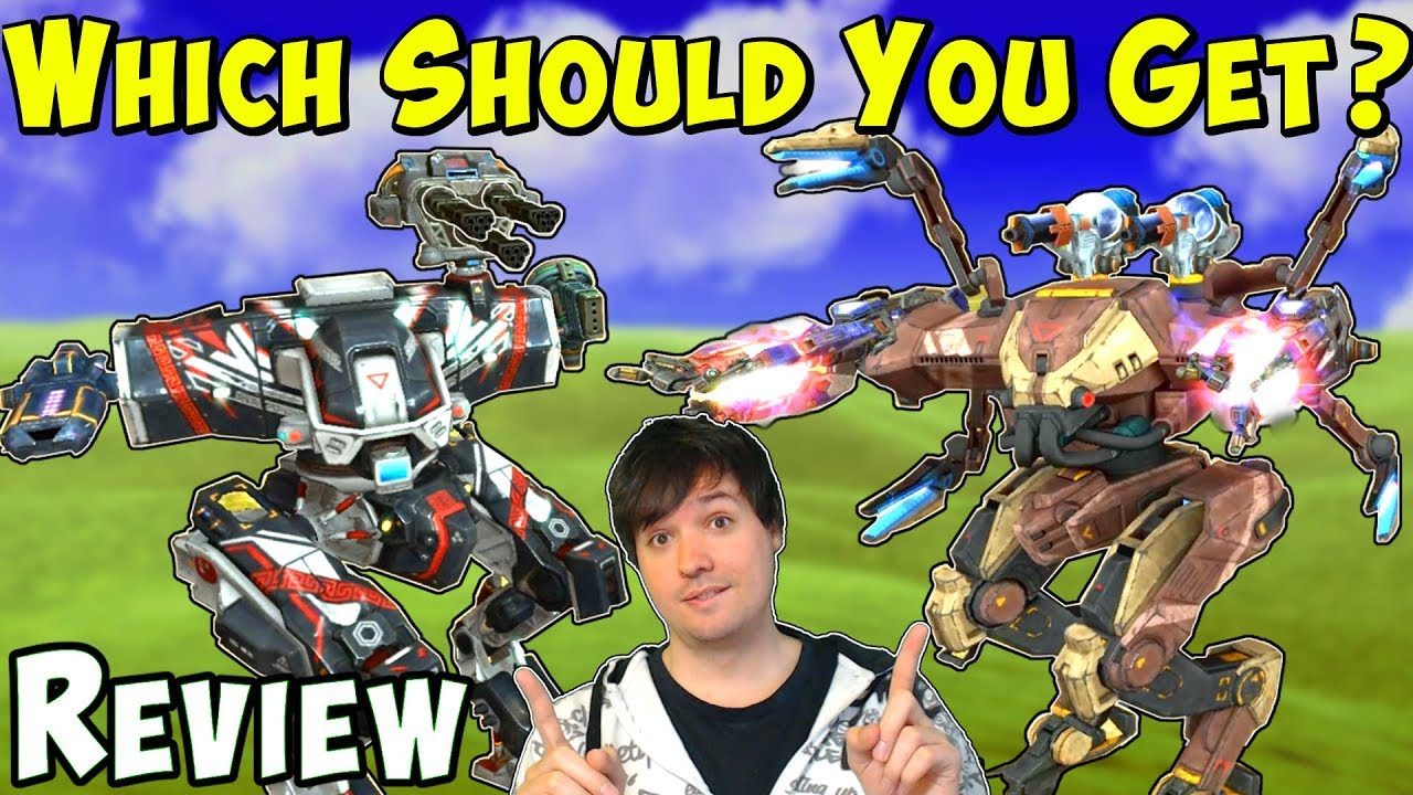 ARES, HADES or NEMESIS - Which Should You Get? War Robots ...
