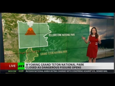 Dangerous fissure opens in Grand Teton National Park