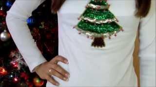 Diy Como Decorar Tus Camisas Para Abrir Los Regalos De Navidad Decorar Camisetas Youtube