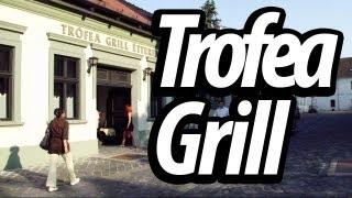 Хороший недорогой ресторан в Венгрии - Trofea Grill