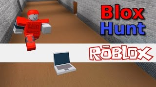 Blox Hunt In Roblox: HIDING AS A LAPTOP!!
