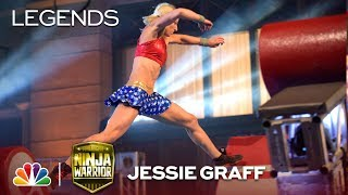 Jessie Graff: First Woman to Advance to City Finals - American Ninja Warrior