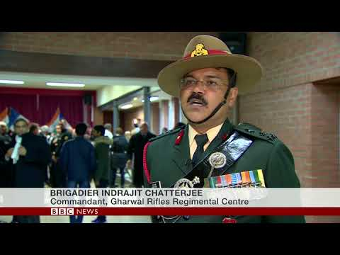 BBC World News: Indian soldiers found in France laid to rest