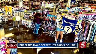 Women Steal Hair Extensions From Beauty Supply Store