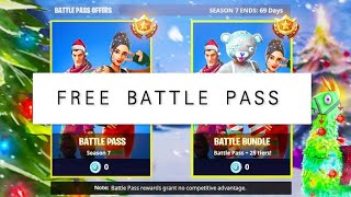 *GLITCH* HOW TO GET SEASON 7 FOR FREE ON FORTNITE BATTLE ROYALE! (BATLLE PASS FOR FREE)