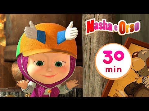 Masha E Orso - Il Capello Magico 🎩  Сollezione 5 🎬 30 Min