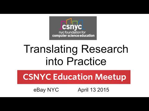 April 2016 - Translating Research into Practice