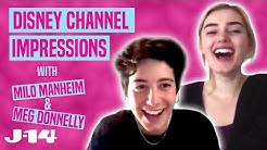ZOMBIES 2 Stars Milo Manheim and Meg Donnelly Do Disney Channel Impressions