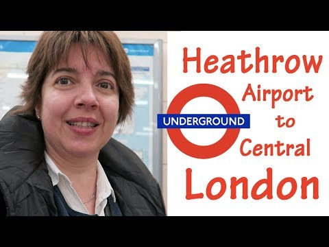Taking the Underground - Heathrow Airport (Terminal 2) to Central London: Flight FRA-LHR: Part 2