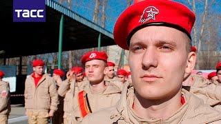 Юнармейцы получили новую форму для участия в Параде Победы
