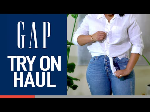 Gap Try On Haul - With A Special Surprise - Spring 2019