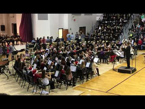 Desoto Central Middle School 6th Grade Band - Jingle Bell Tones