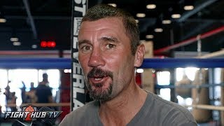 UNCUT! WAYNE MCCULLOUGH ON CONOR HAVING A SHOT, FLOYD GETTING OLD, 8OZ GLOVES, MALIGNAGGI SPARRING