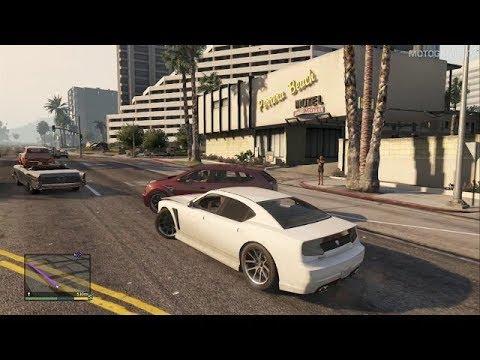 GTA V Xbox 360 - Free Roam Gameplay