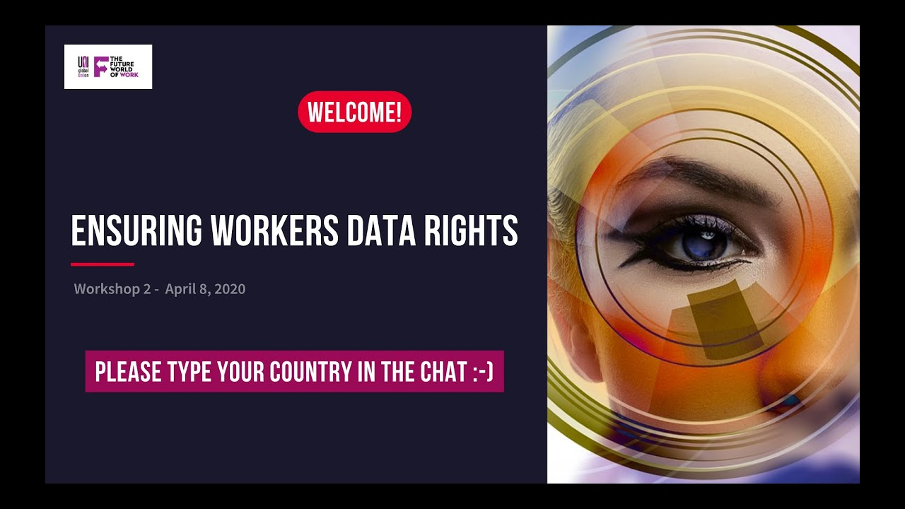 Ensuring Workers' Data Rights