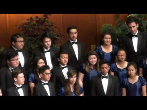 """""""For the Beauty of the Earth"""" San Gabriel Academy Chorale and Orchestra NorCal Tour 2017"""
