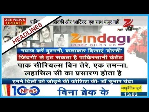 Pakistan Serials will not be shown in Zee Zindagi