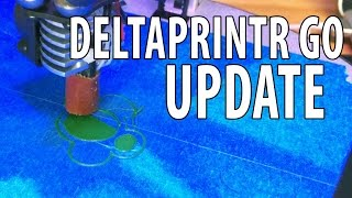Deltaprintr Go 3D Printer Update - It's Fixed!