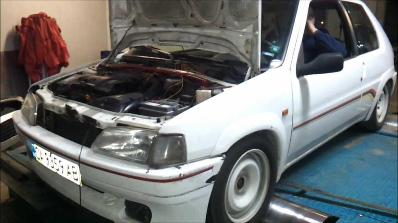 Peugeot 106 1.6 16v - YouTube