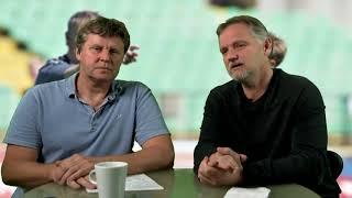 Landsholdsoptakt med Ole Bruun og Leif Rasmussen: Danmark - Irland i Parken  lørdag kl. 20:45