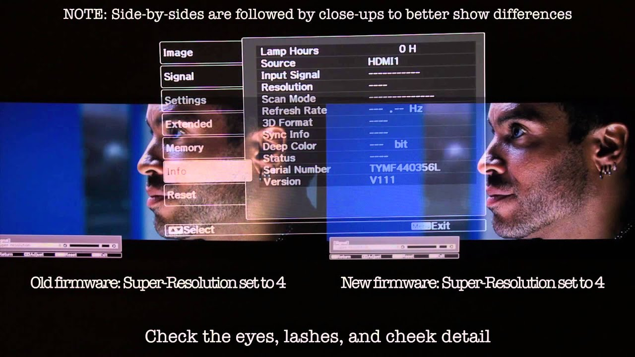 Detail Enhancement Upgrade for Epson 5030UB, 6030UB, 5030UBE and ...