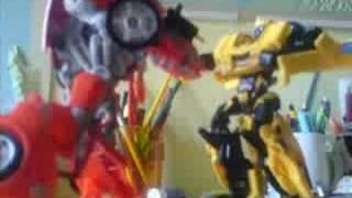 vuclip transformers stop motion batle v1.0