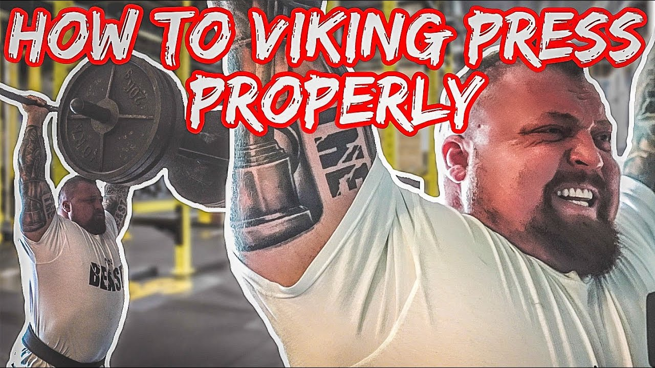 STRONGMAN TIPS | How to Viking Press Properly