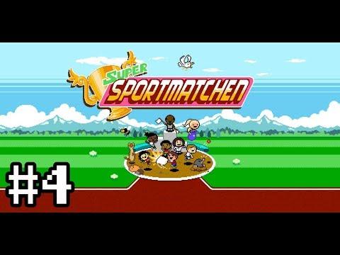 Super Sportmatchen, Round 1 Finals - River Dodge and 100m Dash  