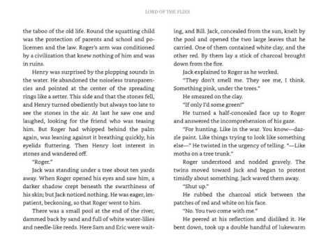 LOTF   Chapter 4