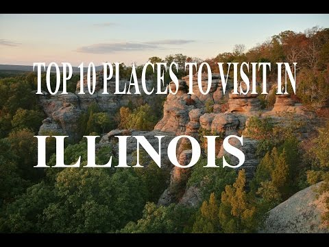 Top 10 Places To Visit in Illinois | Visit Chicago: Top Ten Sights in Chicago, Illinois, USA