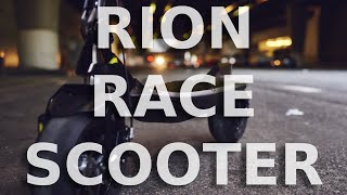 Rion Electric Scooter - A Hyper Electric Race Vehicle