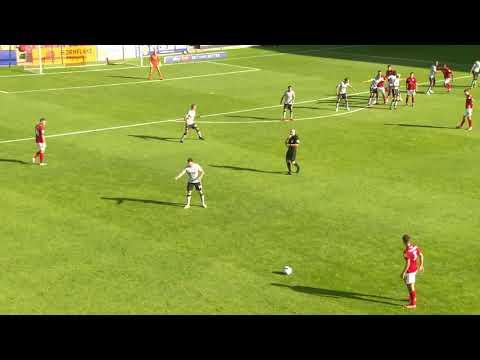 Крю Александра  0-2  Чарльтон Атлетик видео