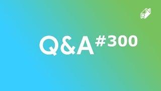 Q&A #300 Jubileusz i konkurs ;) | Robert Nawrowski