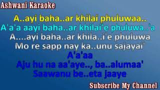 Ajhu na aaye balma Video Karaoke female voice