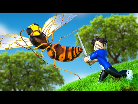 FIGHTING THE WASP BOSS IN Treasure Quest !? (Roblox)  