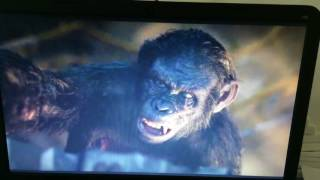 Dawn of planet of the apes final battle
