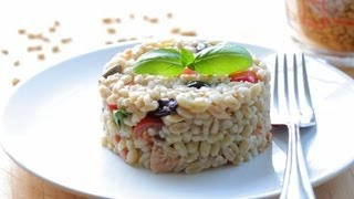 Pearl Barley Tuna Salad Recipe