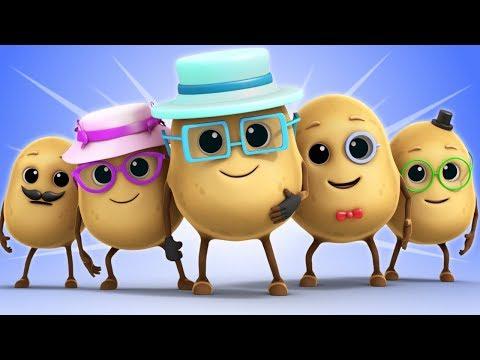 One Potato Two Potato | Kids Nursery Rhymes | Children's Songs by Luke & Lily