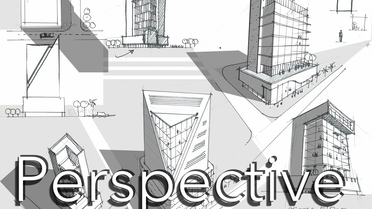 architecture sketch perspective tutorial