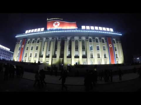 NYE in Pyongyang: Kim Il Sung Square fireworks
