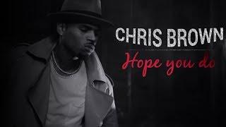 Chris Brown - Hope you do (Legendado - Tradução)