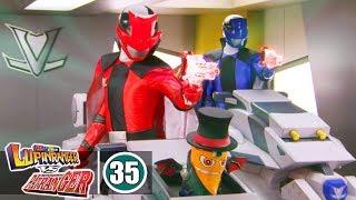 Siêu Nhân Chiến Đội Siêu Trộm vs Chiến Đội Cảnh Sát - Tập 35 : Thần Công Khai Hỏa