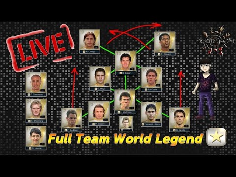 [LIVE] FIFA Online 3 : Welcome to IOSNx [Hagi & Hierro] + ลองทีม Full World Legend